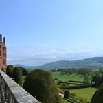 Terrace in Powis Castle