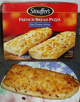 Stouffer's - Five Cheese White French Bread Pizza ...