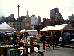 NEW YORK CITY - HELL'S KITCHEN FLEA MARKET