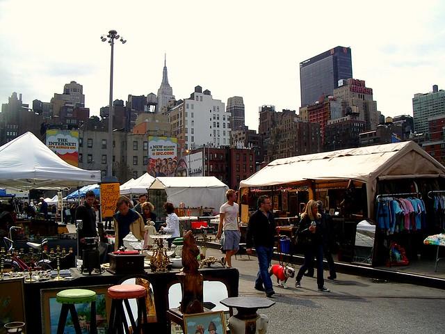 NEW YORK CITY HELL S KITCHEN FLEA MARKET