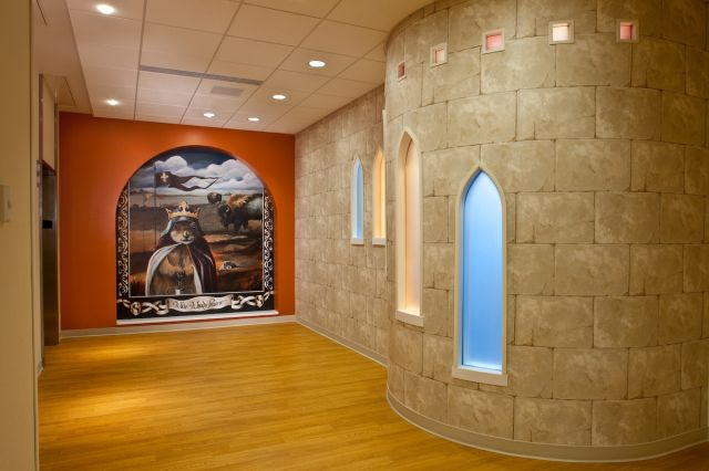 Interior Design Sioux Falls: Sanford Children's Hospital Interior