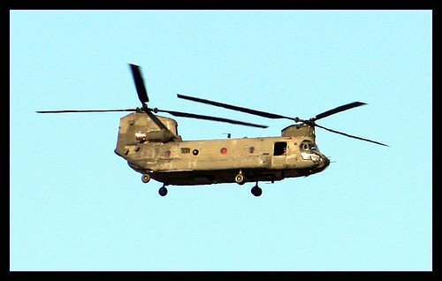 Something Different USAF CH-47 Chinook Helicopter!