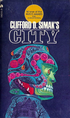 City (Ace 10623) 1973 AUTHOR: Clifford D. Simak ARTIST: (unknown)