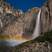upper yosemite falls moonbow by Marc Crumpler (Ilikethenight)