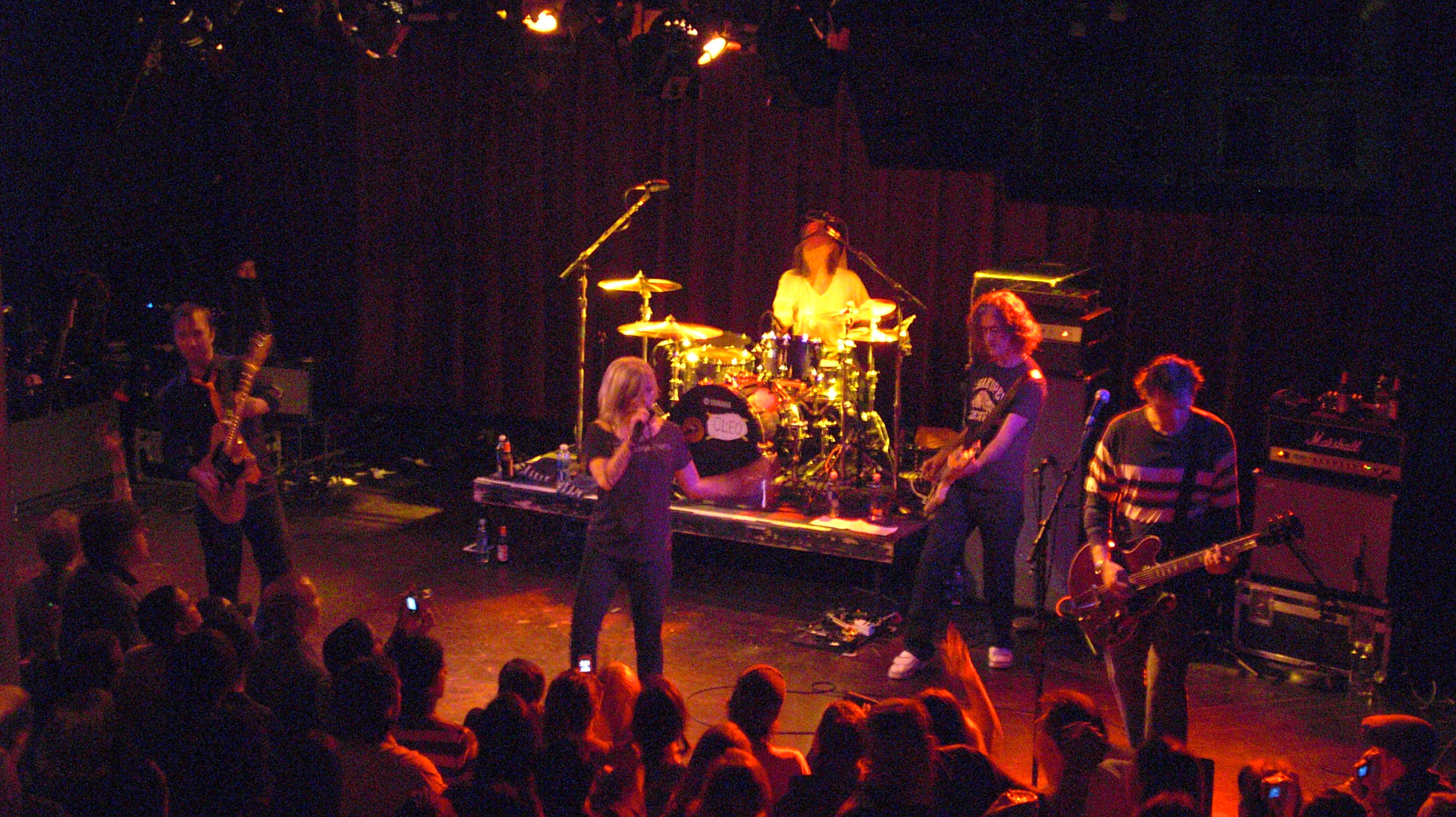 2008-12-09 - Letters to Cleo @ the Paradise - Casio 215