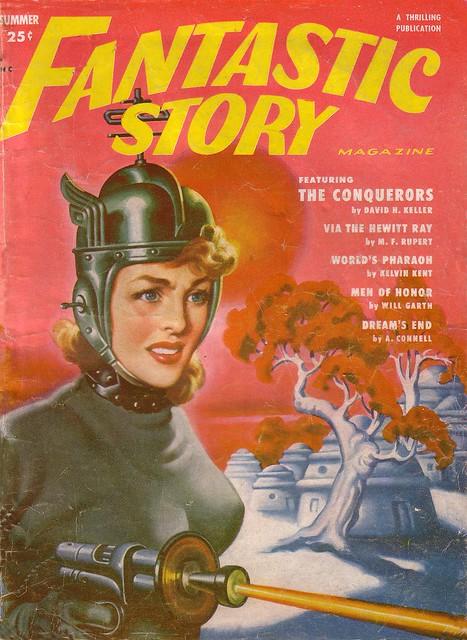 Fantastic Story Magazine 1950 Pulp Comic Books