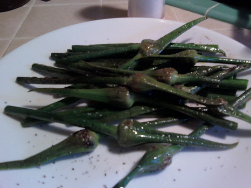 Garlic spears