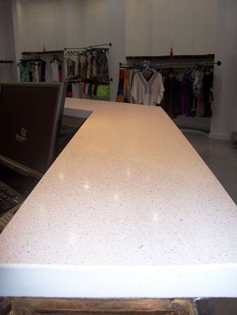 Concrete Countertop Mix : Pure white concrete counter buddy rhodes mix flickr
