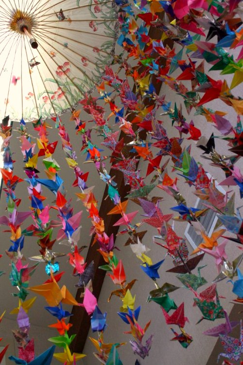 1000 cranes origami embroidery origami for 1000 paper cranes wedding decoration