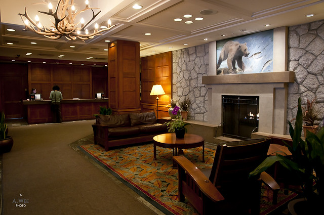 Pan Pacific Mountainside Lobby