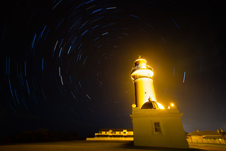 Macquarie Lighthouse startrail