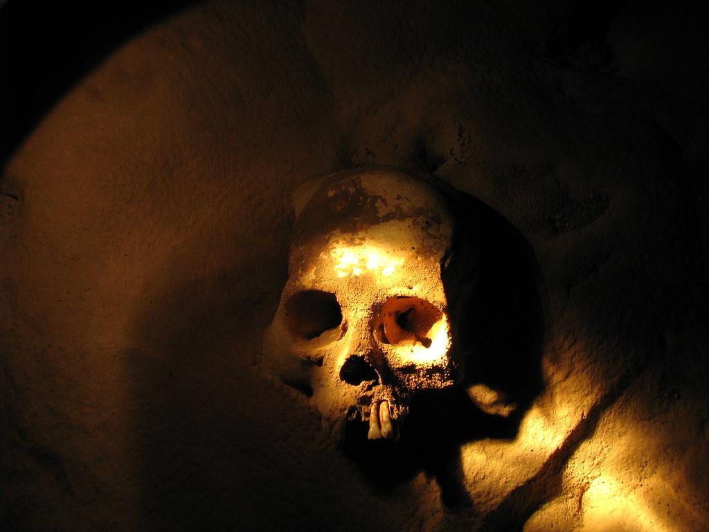 Skull in ATM