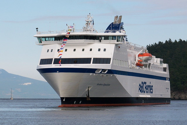 BC Ferry Northern Expedition arrives at Departure Bay by flicker user kams_world