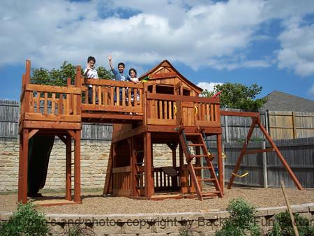 54) Backyard Fun Factory Fort Stockton Monkey Land 3