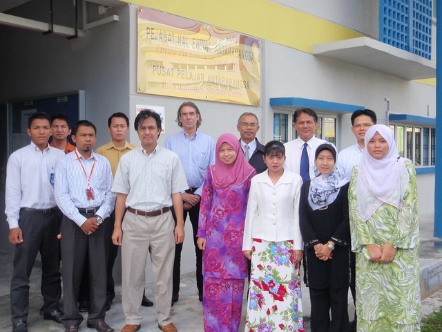 Staff of UTM Office of International Affairs