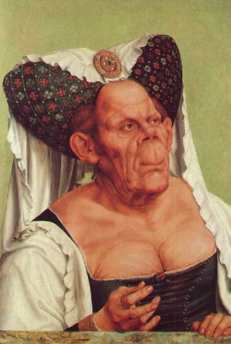 Massys, Quentin - 1515 A Grotesque Old Woman (National Gallery, London)