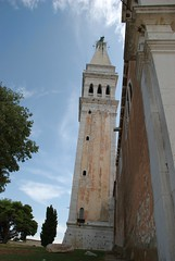 Bell tower of the church of S. Eufemia