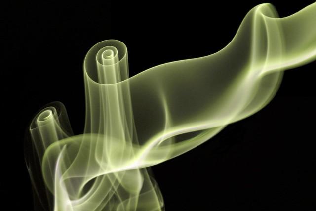 Incense vortex: end of a world