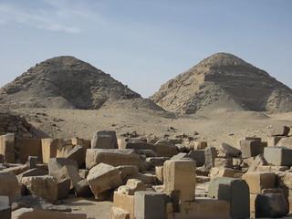 Image of Pyramid of Neferirkare. pyramid egypt abusir 2009 neferirkare nyuserreini