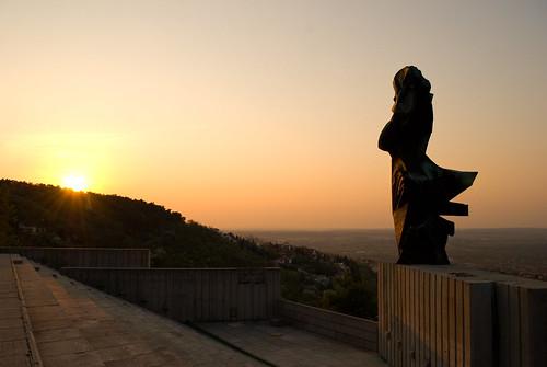 morning sky monument sunrise skyscape landscape nikon hill fav pécs d60 mecsek wasab nikkor18–55mmf35–56gafsdxvr