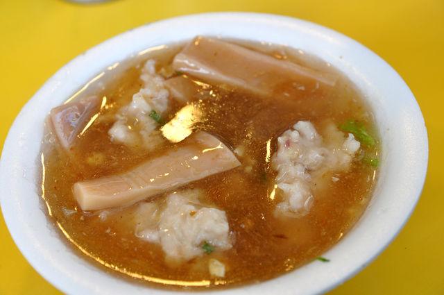 遼寧街夜市北海道活魷魚