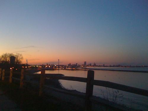Bay View at Sunset