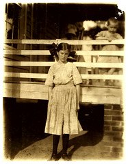Lewis Hine: Lilly O'Sullivan, 13 years old, Drayton Mills, Spartanburg, South Carolina, 1912