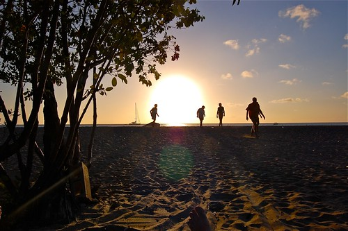 sunset vacation beach nikon caribbean nevis sunshines pinneys d40