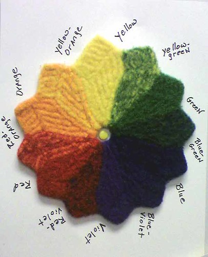 Knitting Color Wheel : The yarn doctor color wheel