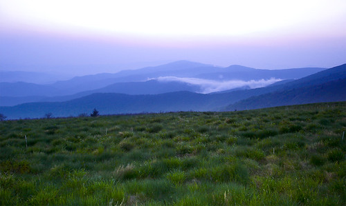 sky mountain green nature grass tn hill scenicview roanmountain