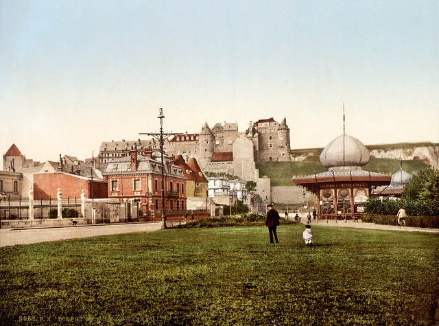 Old castle, Dieppe, France. ca. 1895
