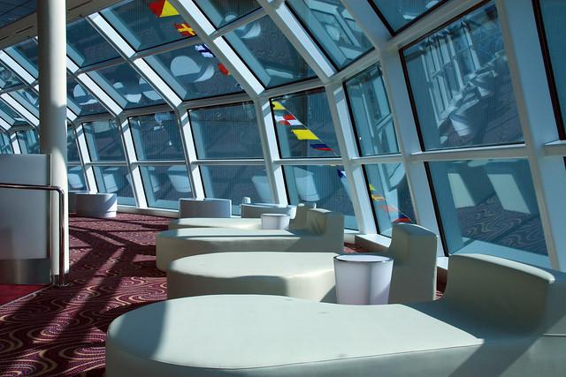 Sky observation lounge celebrity equinox deck