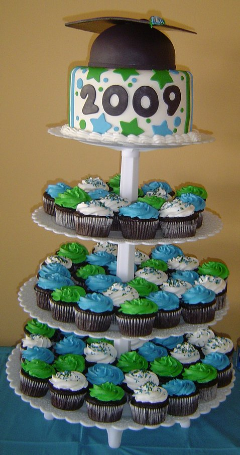 Cupcake Cake Designs For Graduation : Square (150x150) Small (126x240) Medium (337x640 ...