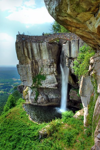 cliff georgia waterfall rocks tennessee folklore fantasy chatanooga lookoutmountain rockcity loversleap platinumheartaward