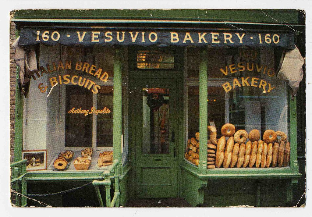 VESUVIO BAKERY NYC POSTCARD