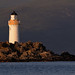 Ornsay lighthouse, Sound of Sleat, Isle of Skye, Scotland