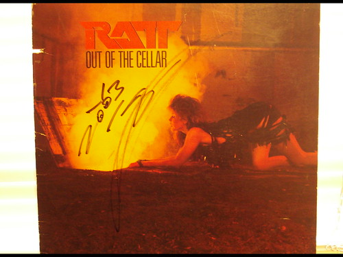 1983 - Ratt Out Of The Cellar (Autographed by Stephen Pearcy)