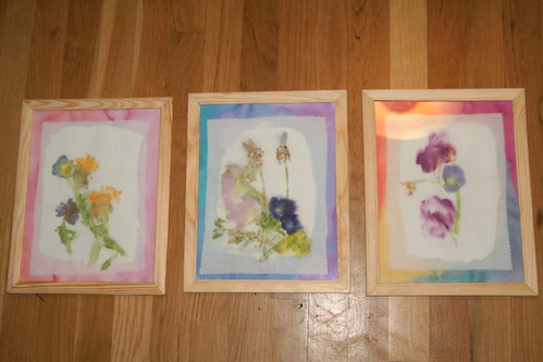 Flower Prints Art Project