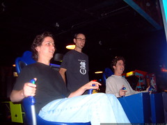 daniel, gleeco and drew in the video arcade   dscf0179
