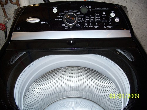 Our new Whirlpool Cabrio Washer & Dryer #2