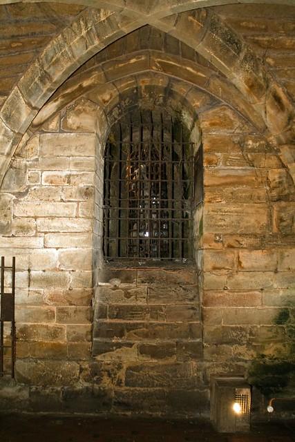 Warwick castle dungeon