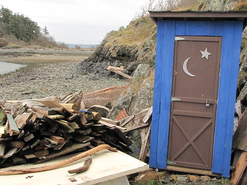 Shanty outhouse