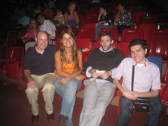 Medellin Couchsurfers (from left) - me, Sirley, ?, and Nicholas
