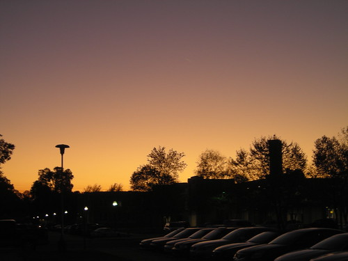 autumn light sunset sky color college evening university monroe 2008 ulm studentunion universityoflouisianaatmonroe