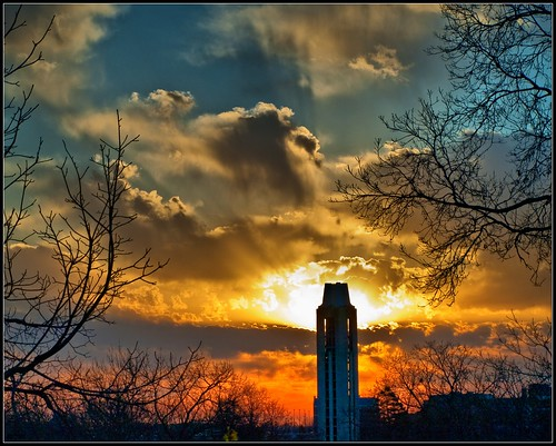 sunrise campus lawrence university ks olympus campanile ku kansas sunrays hdr universityofkansas e410