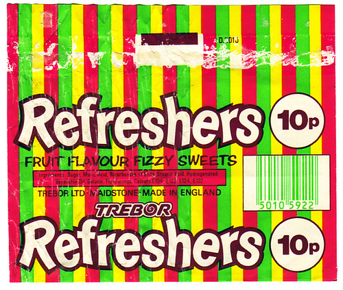 Trebor Refreshers From Late 80's