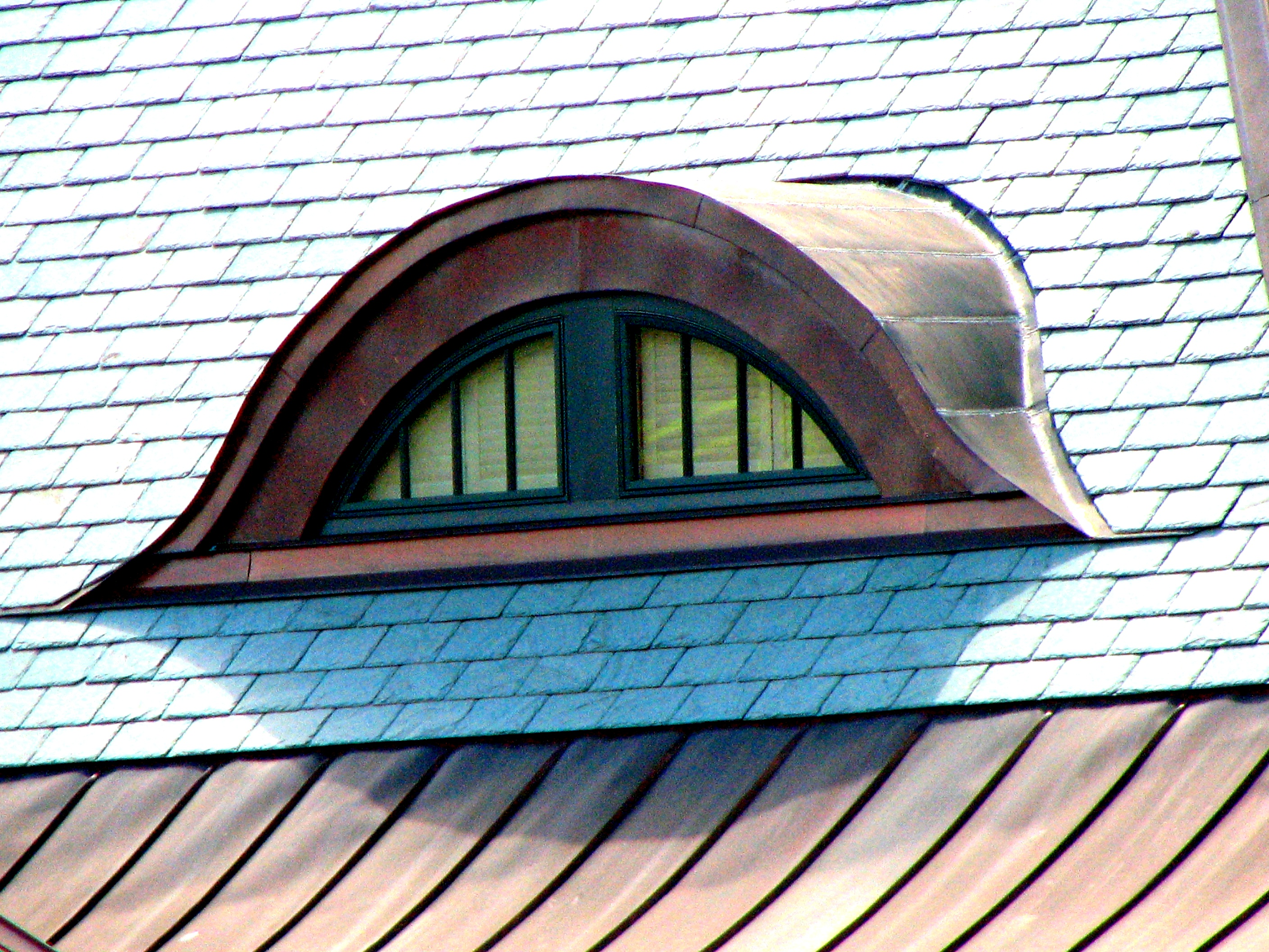 Eyebrow dormer flickr photo sharing for Eyebrow dormer windows