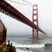 Golden Gate bridge at Fort Point by i-marco