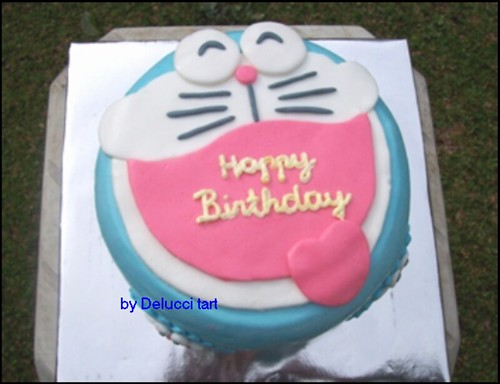 Doraemon birthday cake Flickr - Photo Sharing!