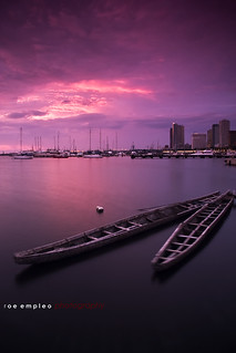Manila Bay... a portrait.